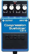 Boss CS-3 Compression - Sustainer Guitar Effects Pedal
