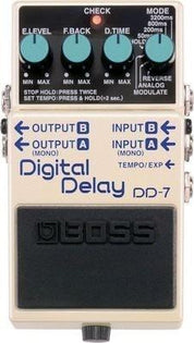 Boss DD-7 Digital Delay Pedal | Delay Effect Stompbox