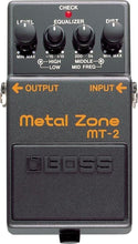 Boss MT-2 Metal Zone Distortion Guitar Effect Pedal