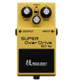 Boss SD-1W Waza Craft Series Super Over Drive Guitar Effects Pedal