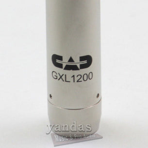 CAD GXL1200 Cardioid Condenser Microphone Silver