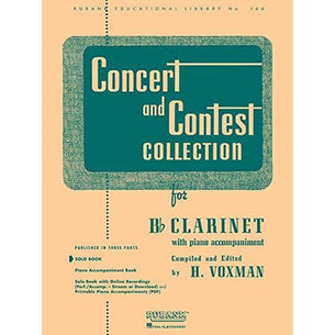 Concert and Contest - Bb Clarinet