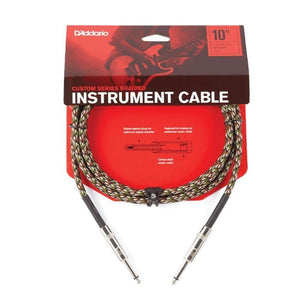 D'Addario Braided Instrument Cable | Camouflage 20 Ft