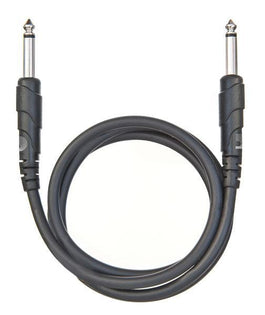 D'Addario Classic Series Patch Cable, Right-Angle, 1 Foot