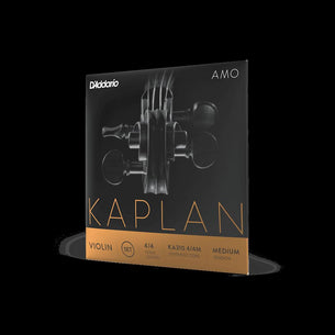 D'Addario Kaplan Amo Violin String Set 4/4 Scale Medium Tension