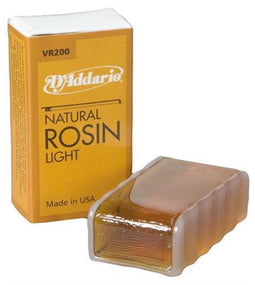 D'Addario Natural Rosin | VR200 | Light
