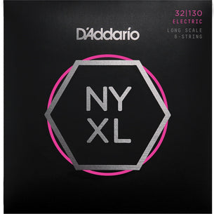 D'Addario NYXL 6-String Bass Guitar Strings | Light