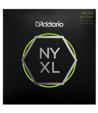 D'Addario NYXL Long Scale Bass Strings | 45 - 125