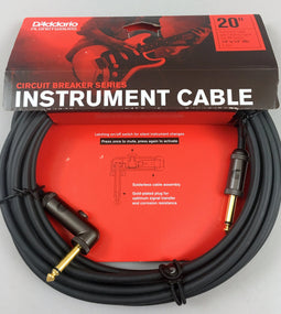 D'Addario Planet Waves Circuit Breaker 20'Instrument Cable