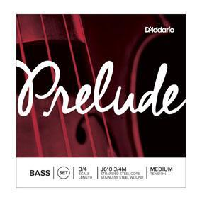 D'Addario Prelude 3/4 Double Bass String Set | J61034M