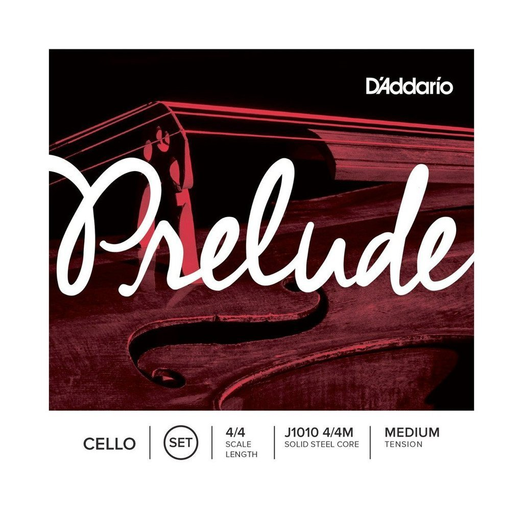 D'Addario Prelude Cell String Set | 4/4