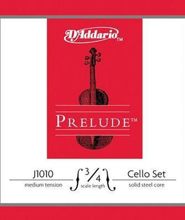 D'Addario Prelude Cello String Set | 3/4 Scale