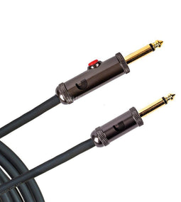 D'Addario PW-AGL-10 Circuit Breaker Instrument Cable | 10 Feet