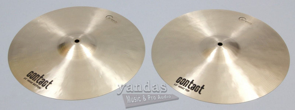 Dream Cymbals Contact Series Hi Hat Cymbal 14 Inch
