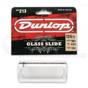 Dunlop 213 Glass Guitar Slide | 13.5 Ring Size