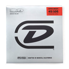 Dunlop Marcus Miller Super Bright Bass Strings | Medium, .045–.105