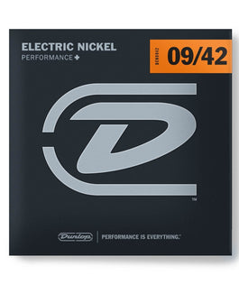 Dunlop Nickel Plated Steel Light Electric Strings | .009-.042