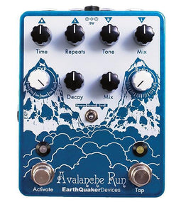 EarthQuaker Avalanche Run Stereo Delay & Reverb | With Tap Tempo V2