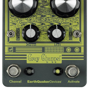 EarthQuaker Devices Gray Channel Dirt Doubler Pedal