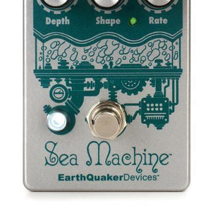 EarthQuaker Sea Machine V3 Super Chorus Effect Pedal