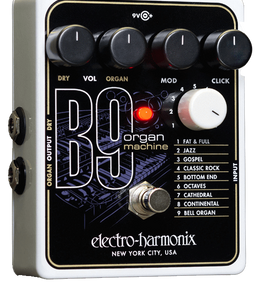 Electro Harmonix B9 Organ Machine Guitar Effects Pedal