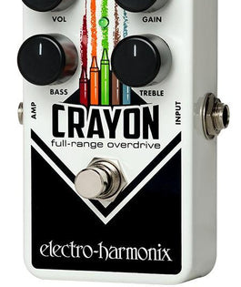 Electro Harmonix Crayon 69 Full-Range Overdrive Effects Pedal