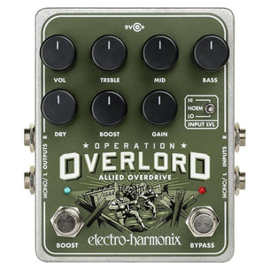 Electro-Harmonix Operation Overload Overdrive Effect Pedal
