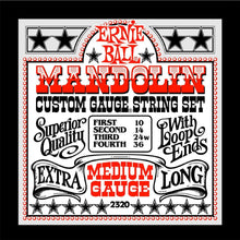 Ernie Ball 2320 Mandolin Medium Gauge Strings | 10-36