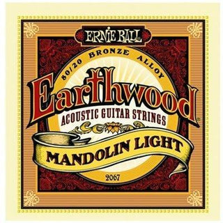 Ernie Ball Earthwood Light Mandolin Strings | 80/20 Bronze | 2067