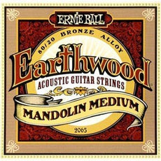 Ernie Ball Earthwood Medium Mandolin Strings | 80/20 Bronze | 2065