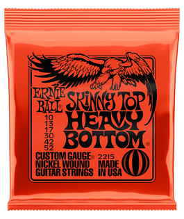 Ernie Ball Skinny Top Heavy Bottom Electric Guitar Strings | 10-52 Gauge
