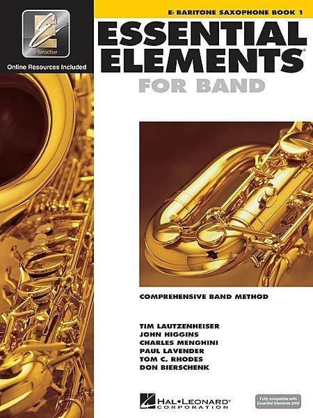 Essential Elements For Band Book 1 with EEi - Baritone Sax