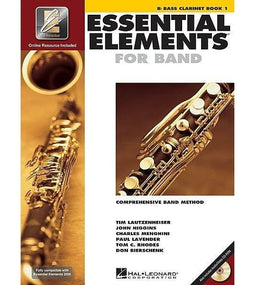 Essential Elements For Band Book 1 with EEi - Bass Clarinet