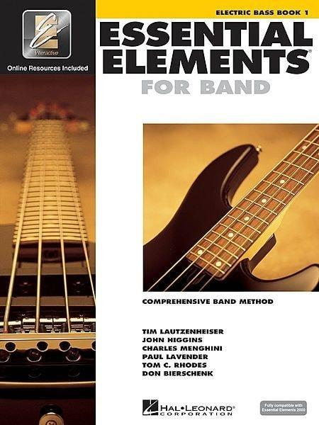 Essential Elements For Band Book 1 with EEi - Electric Bass