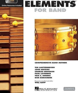 Essential Elements For Band Book 1 with EEi - Percussion