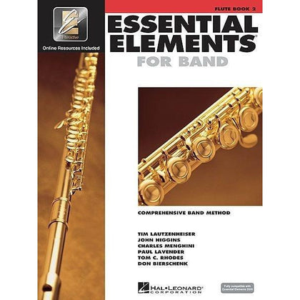 Essential Elements For Band Book 2 with EEi - Flute