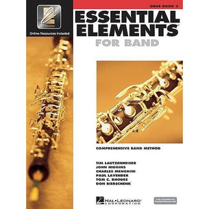 Essential Elements For Band Book 2 with EEi - Oboe