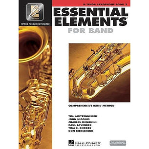 Essential Elements For Band Book 2 with EEi - Tenor Sax