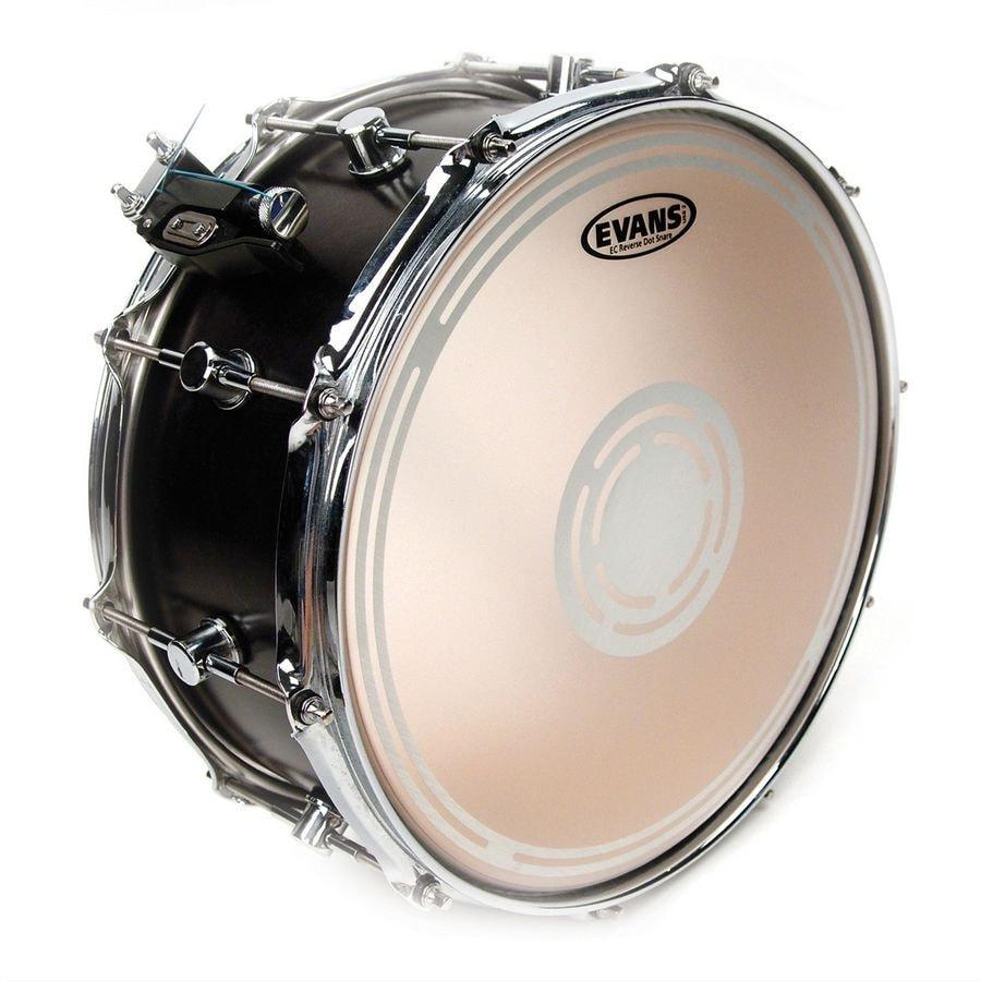 Evans EC2S Frosted Reverse Dot Snare Batter Drumheads