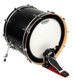 "Evans EMAD Coated 22"" Bass Drum Batter HEAD 