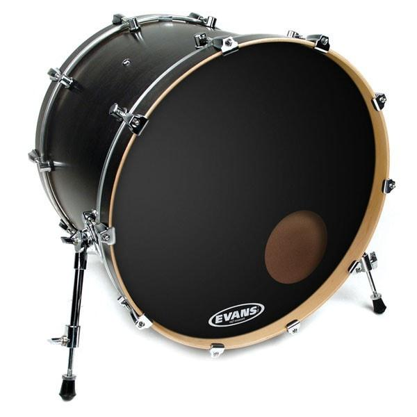 Evans EQ3 Reso Black Bass Drum Heads