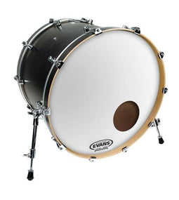 Evans EQ3 Reso Smooth White Bass Drum Heads