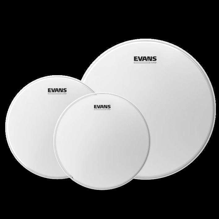 Evans UV2 Coated Drumhead Standard Tom-pack 12, 13, 16