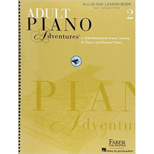Faber Adult Piano Adventures All In One | Book 2
