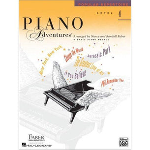 Faber Piano Adventures Level 4 Popular Repertoire