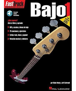 Fast Track Bass Guitar | Book 1 | Spanish Edition