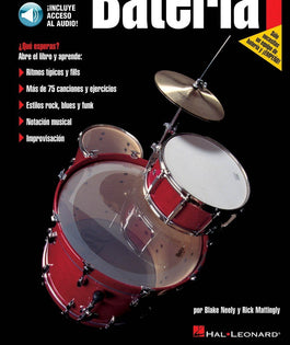 FastTrack Drum Method – Level 1 (Book/Cd Spanish Edition)