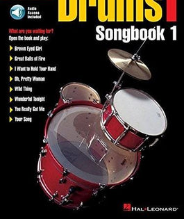 FastTrack Drum Song Book 1