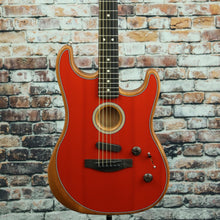 Fender American Acoustasonic Stratocaster | Dakota Red