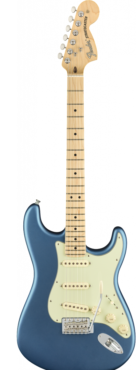 Fender American Performer Stratocaster | Satin Lake Placid Blue